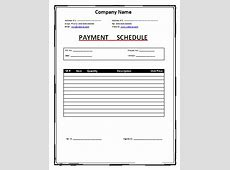 Schedule Templates Free Word Templates