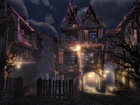 house building plans haunted town asset store