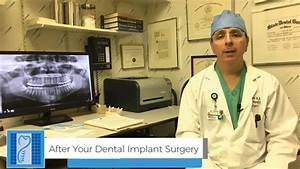 Instructions For After Your Dental Implant Procedure