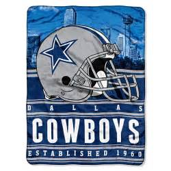 dallas cowboys stacked silk touch throw blanket home decor home office accessories
