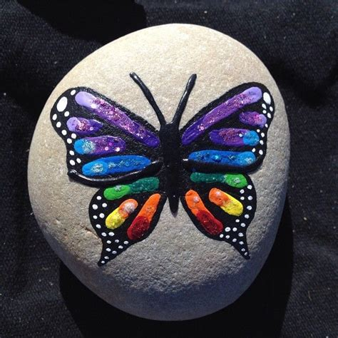 Butterfly And Stones by 716 Best Pebbles And Stones Butterfly 2 Images On