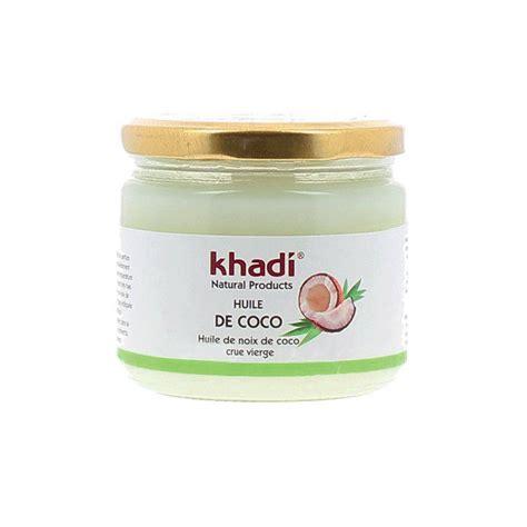 soin cheveux huile de coco huile de coco bio khadi cheveux et visage