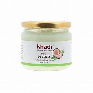 Soin Cheveux Huile De Coco : huile de coco bio khadi cheveux et visage ~ Melissatoandfro.com Idées de Décoration