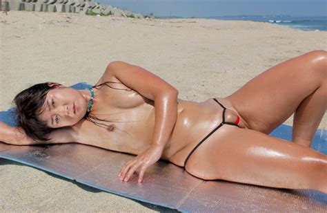 Erika Japanese Bikini Milf Nude Shesfreaky