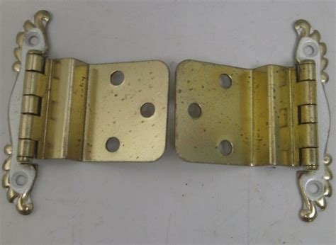 Hinge Cabinet by Nos Vintage 10 Pair Cabinet Hinge Hardware Brass With