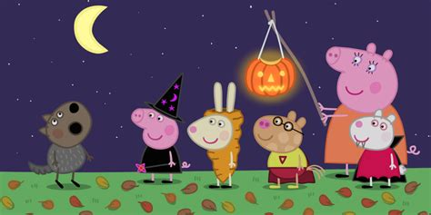 "Nickalive! Nick Jr Uk To Premiere Brandnew ""peppa Pig"" Halloween Special ""pumpkin Party"" On"