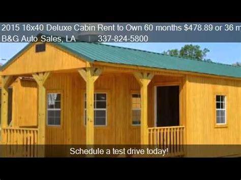 deluxe cabin rent    months
