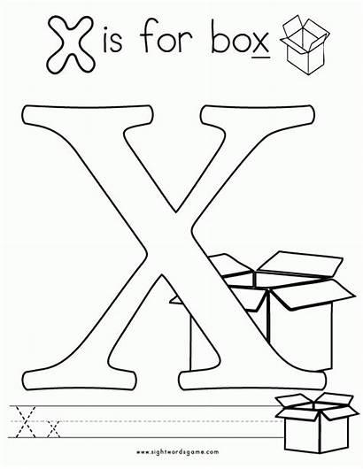 Coloring Letter Pages Box Alphabet Pbs Letters