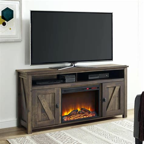 furniture extraordinary electric fireplace tv stand