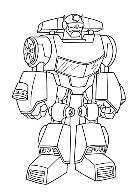 chase bot coloring pages  kids printable  rescue