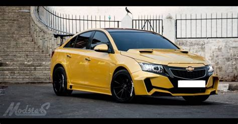 chevrolet cruze project yellow transformer  images