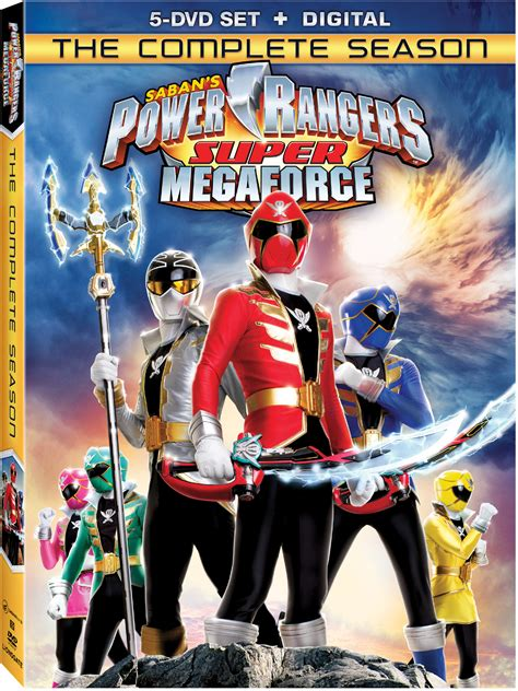 Dvd Review Power Rangers Super Megaforce The Complete