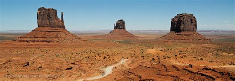 Pictures of the USA - Monument Valley-0012a - West Mitten ...