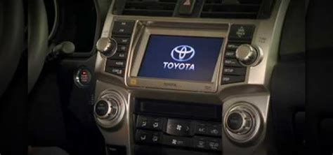 how make cars 1995 toyota 4runner navigation system how to use the navigation system on a 2010 toyota 4runner 171 driving safety wonderhowto