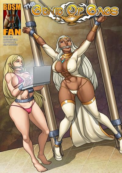 Bdsm Fan The Genie Of Gags • Bondage Porn Comics One
