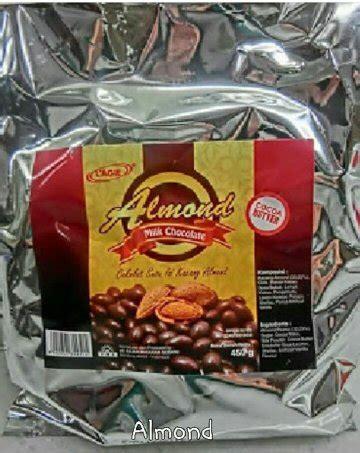 jual coklat lagie almond  lapak tasyafina