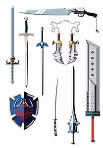 famous weapons from different movies, TV shows and video ...