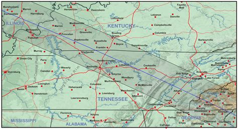 kentucky  tennessee eclipsophile