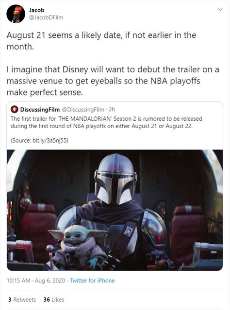 New Rumor Claims To Reveal When The Mandalorian Season 2 ...