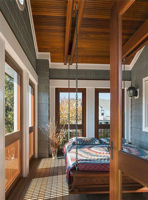 relaxing sleeping porch ideas home design  interior