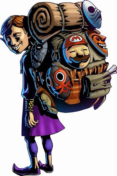 Zelda Mask Salesman Happy Legend Majora 3d
