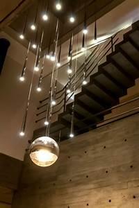 Lampen Für Treppenhaus : moderne beleuchtung beton treppenhaus innenarchitektur ~ Watch28wear.com Haus und Dekorationen