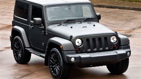 Matte Grey Jeep Wrangler 3 2 Door Luxury Cars