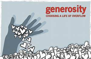 Quotes On Generosity And Christians. QuotesGram