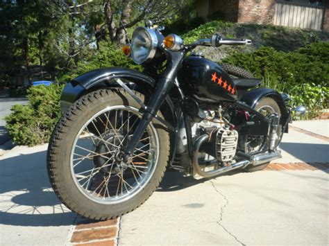 Chang Jiang 750 M1m Motorcycle And Sidecar, California Title
