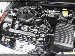 2 7 Liter Dohc 24 Valve V6 Engine For The 2005 Chrysler