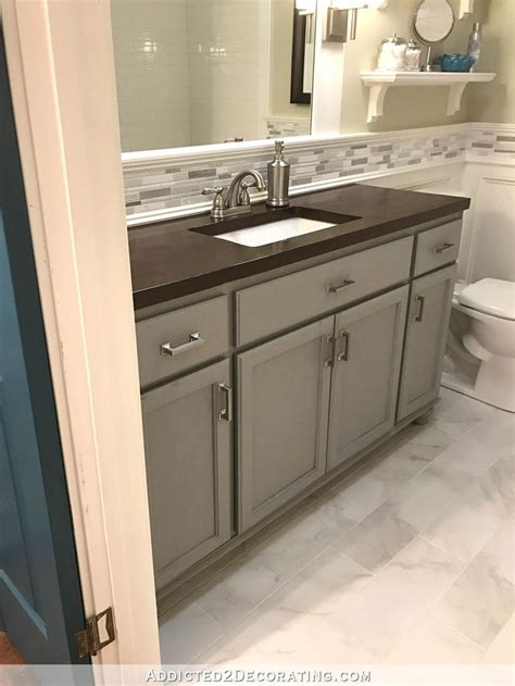 hallway bathroom vanity paint color painted cabinets