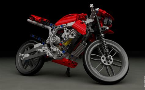 Lego 8051 Motorbike $2 By Sebwouaib On Deviantart