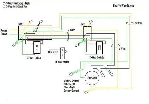 Ceiling Fan Light Switch Wiring Diagram Single by Wire A Ceiling Fan 3 Way Switch Diagram Ceiling Fan