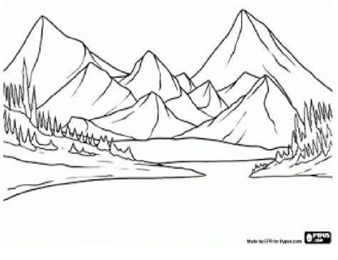 Resultado de imagen de dibujos de paisajes sencillos para