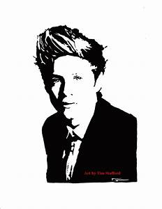 Niall Horan One Direction Pop Art Drawing from ...