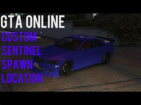 Grand Theft Auto Online Custom Sentinel Spawn Location