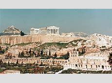 Top vistas de la Acrópolis de Atenas