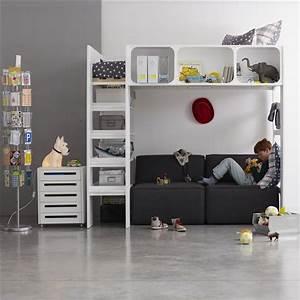 Hauteur Lit Mezzanine : lit mezzanine hauteur ~ Premium-room.com Idées de Décoration