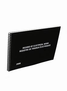 Maintenance Work Order Books Record Of Electrical Work Log Book Bi Lingual 2006
