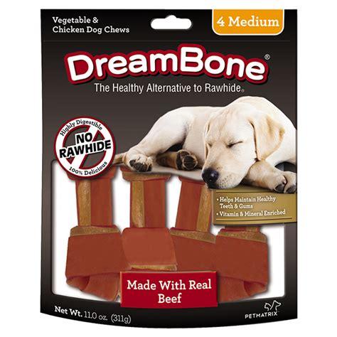 beef classic medium bone chews dreambone