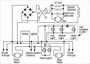 schematic of the stock fa With dcc decoder wiring