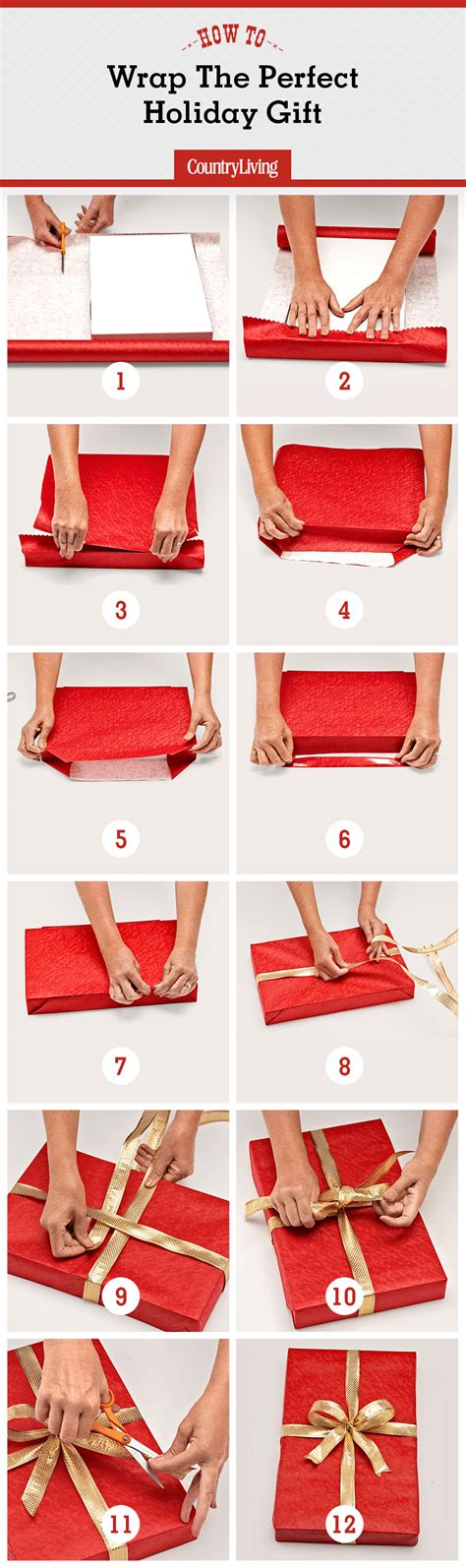how to wrap christmas presents how to wrap a gift wrapping a present step by step instructions with pictures