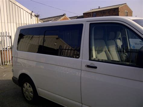 vw t5 t6 o s half slider opening window and a n s front fixed in privacy with kits