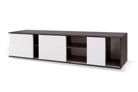meuble bureau porte coulissante idée meuble tv bas porte coulissante