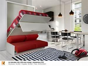 Lit Dans Armoire : armoire lit ~ Premium-room.com Idées de Décoration