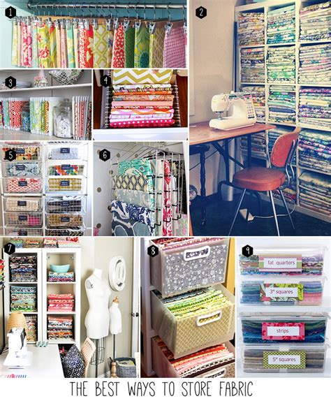 5 alternative methods to storing the best ways to store fabric andrea s notebook
