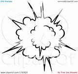 Explosion Coloring Burst Comic Poof Clipart Vector Illustration Pages Royalty Colouring Tradition Sm Designlooter Graphics Drawings 27kb 1024px 1080 Seamartini sketch template
