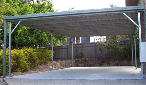 Skillion Roof Carport by Steel Carports Diy Carport Kits The Shed Company