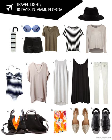 packing light for travel pack for 10 days in miami florida hej doll simple