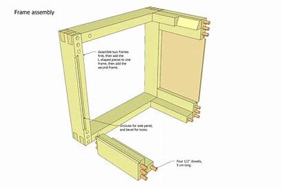 Plans Stand Bandsaw Tool Wood Printer Frame